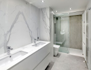 Neolith_Calacatta Bookmatch and Beton_Silk Finish_6mm and 12mm